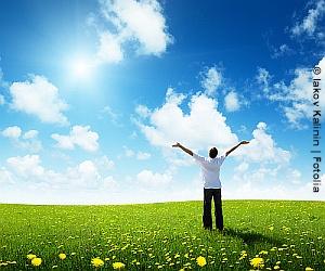 Sonnenlicht-Lichttherapie
