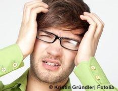 Mann-Kopfschmerzen