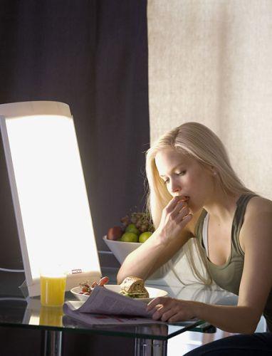 Lichttherapiegerät LUBIA mit Vollspektrumlicht