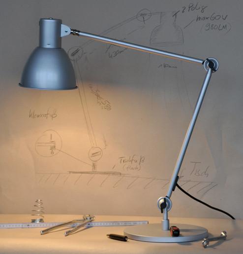Tischleuchte Classico A incl. 12W Vollspektrum LED