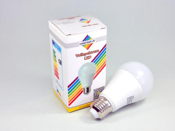 LED Lampe 8 Watt E27 Vollspektrum Tageslichtlampen natur-nah