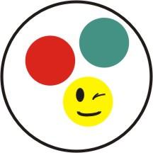 Zeichen-Farbenblind